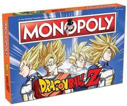 Gra Monopoly. Dragon ball