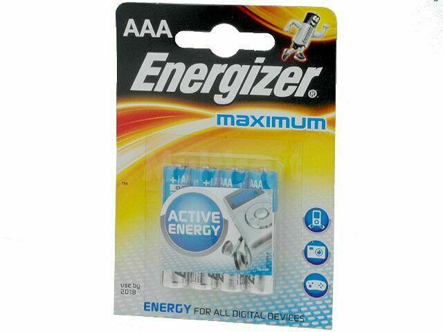 Bateria alkaliczna 1,5V Energizer Maximum R03 (AAA) 4szt.