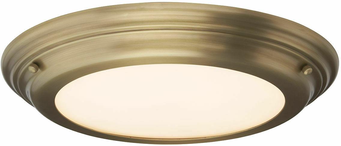 Welland plafon LED szczelny IP54 WELLAND-F-AB - Elstead Lighting Do -17% rabatu w koszyku i darmowa dostawa od 299zł !