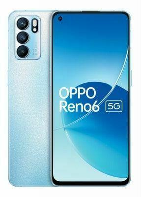 Smartfon OPPO Reno6 5G Błękitny. > DARMOWA DOSTAWA ODBIÓR W 29 MIN DOGODNE RATY