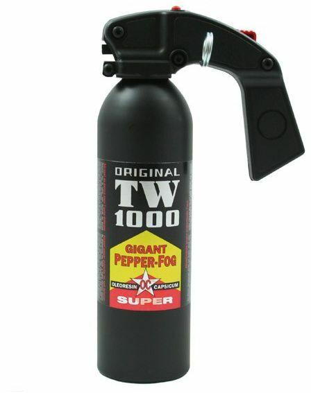 Profesjonalny Duży Gaz Obronny/Obezwładniający (chmura) TW1000 Super Gigant - 400ml.