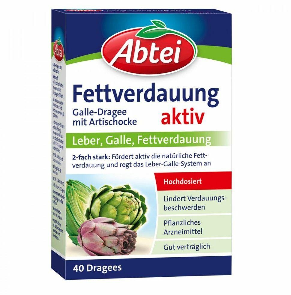Abtei Galle tabletki powlekane z wyciągiem z karczocha