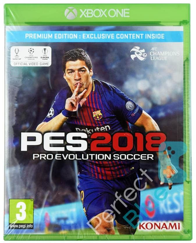 Outlet / Gra Xbox One Pro Evolution Soccer 2018 Premium Edition / Mokotów / 730 000 370