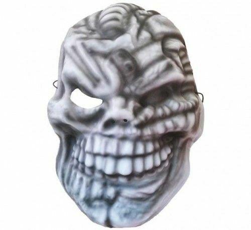 Maska z pianki Straszna Czaszka