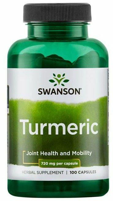 Turmeric Kurkuma 720mg / 1,44 g (100kaps) Swanson