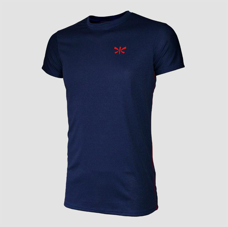 koszulka sportowa niebieska - M (poliester)