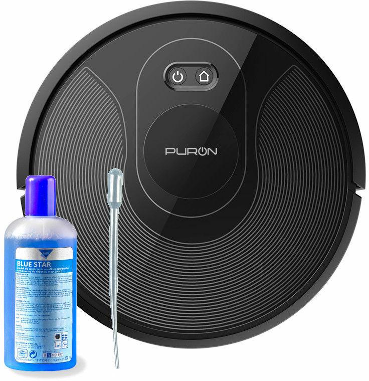 PURON PR10 robot z laserem, lampą UV, mopem, aplikacją + GRATISY PRZEDSPRZEDAŻ