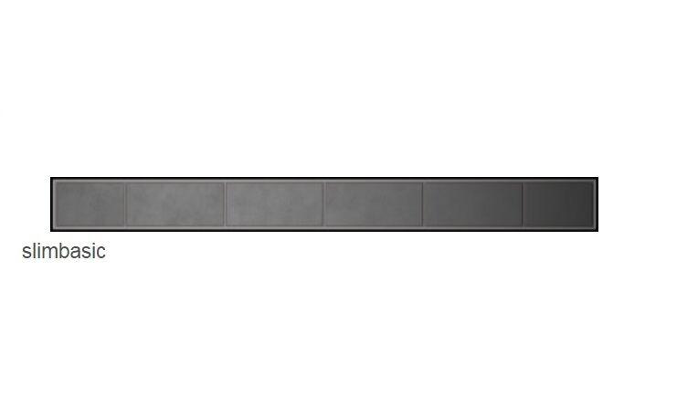 Radaway Slim Basic odpływ liniowy 55x6cm 5L055S/5R055SB
