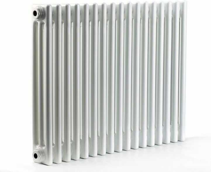 Grzejnik pokojowy retro - 3 kolumnowy, 600x1200, biały/ral - paleta ral