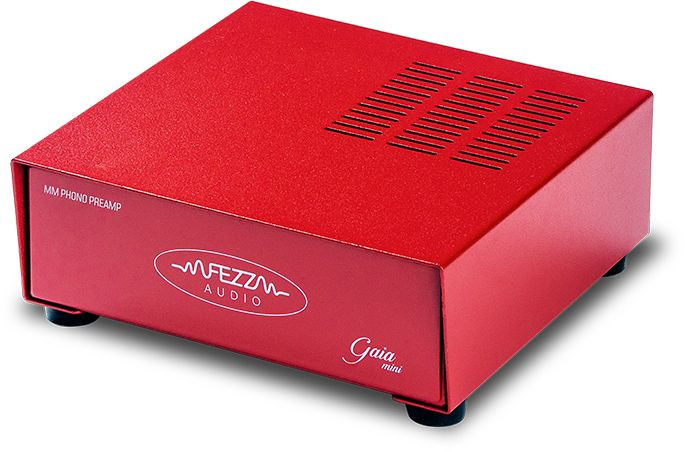 Fezz Audio Gaia Mini Kolor: Czerwony