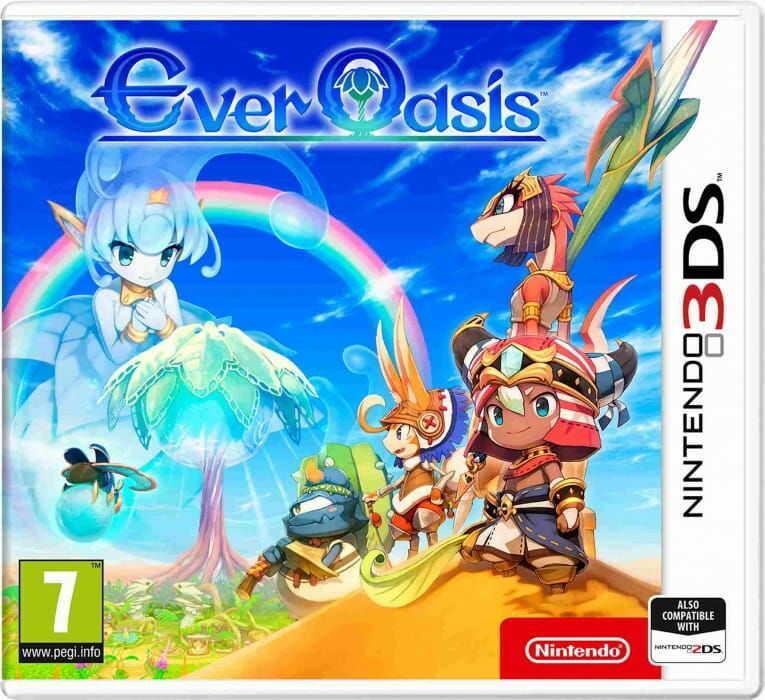 Gra Ever Oasis (Nintendo 3DS)