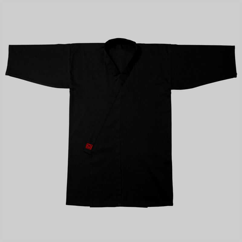 kimono do iaido STANDARD COTTON, czarne (bawełna)