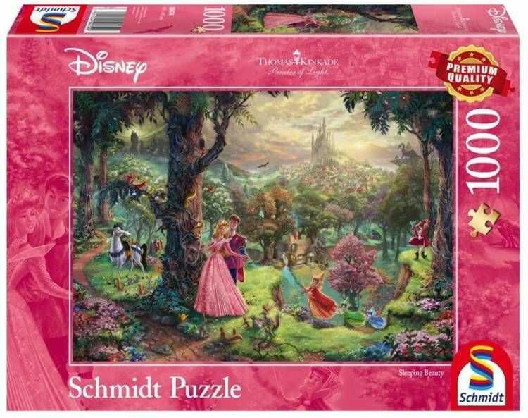 Puzzle PQ 1000 Śpiąca Królewna 3 (Disney) G3 - Schmidt