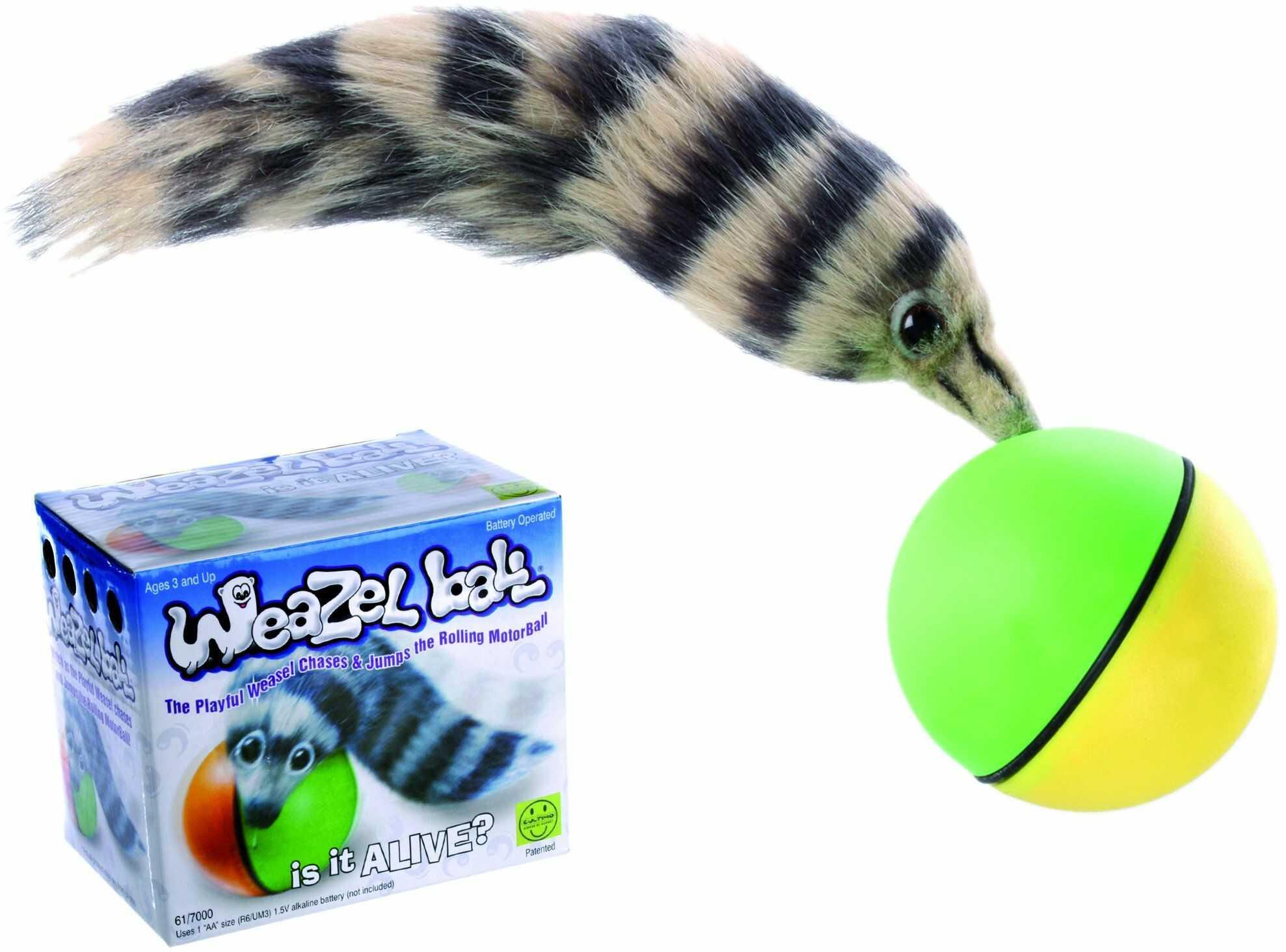 OOTB Tocząca skacząca piłeczka płetwa  niesamowita zabawka dla kota