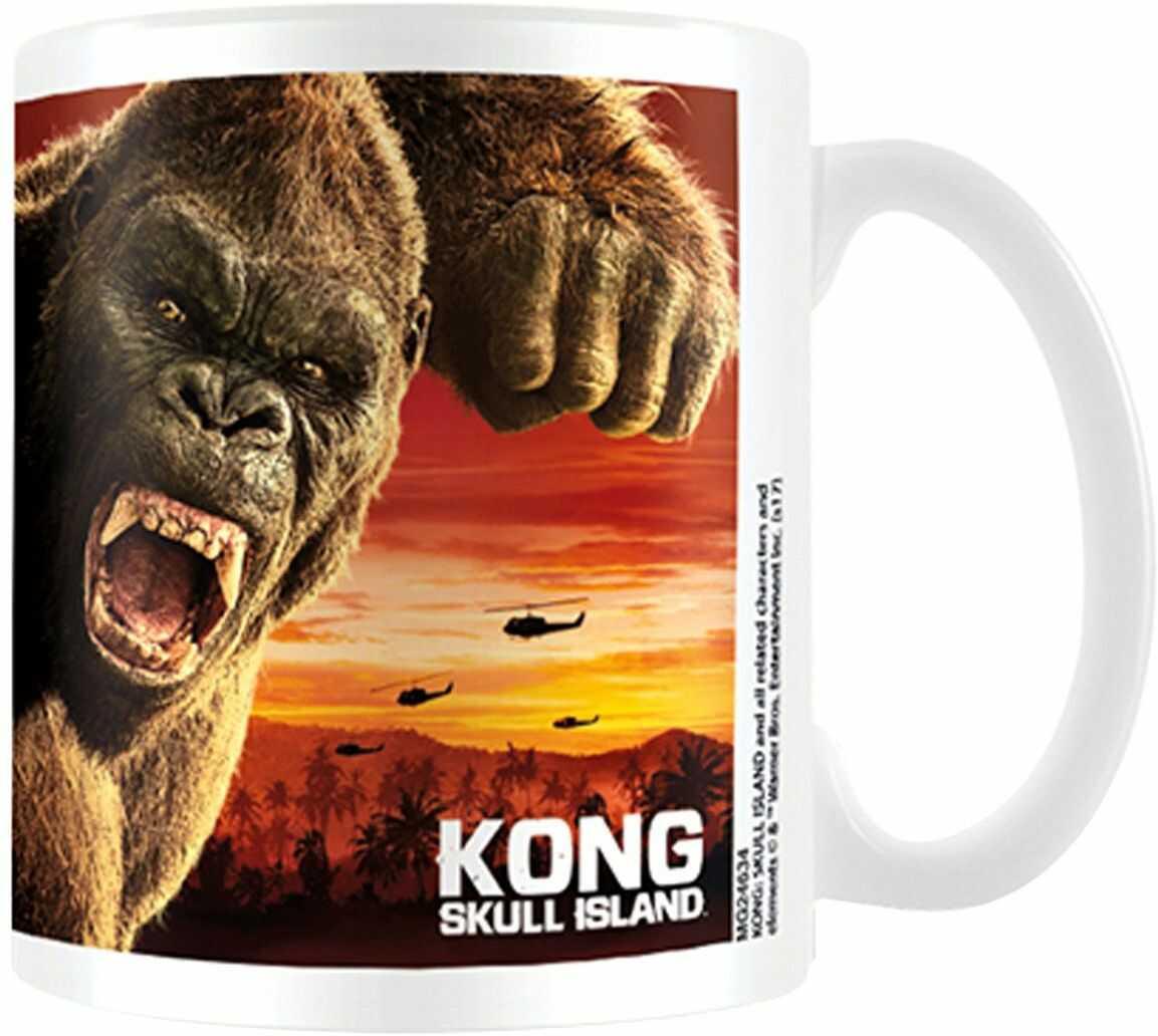 empireposter 766496, King Kong Skull Island kubek, 8,5 x 8,5 x 9,5 cm