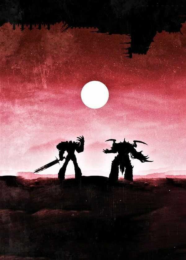 Warhammer 40k vintage poster - plakat wymiar do wyboru: 70x100 cm