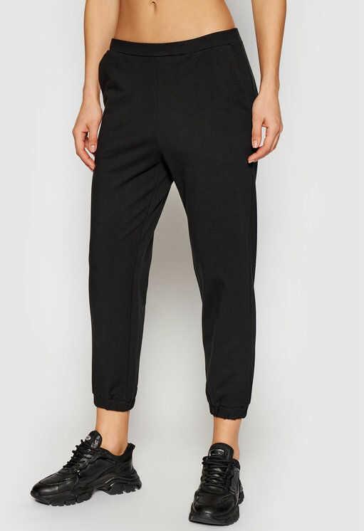 LOVE MOSCHINO Spodnie dresowe W155702E 2180 Czarny Regular Fit