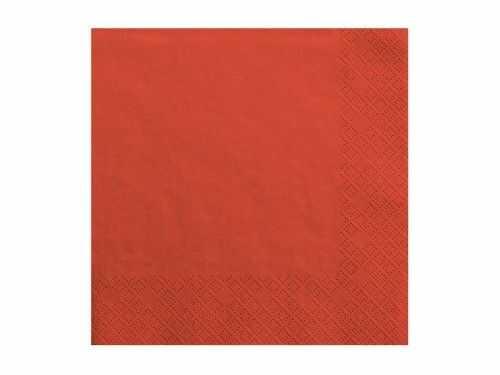 """Serwetki czerwone """"kolorowe party"""""""
