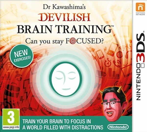 Gra Dr. Kawashima''s Devilish Brain Training (Nintendo 3DS)