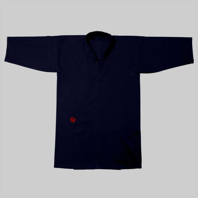 kimono do iaido TC, granat (poliester-bawełna)