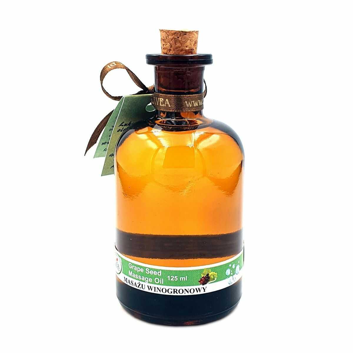 Luksusowy Olejek do Masażu - Winogrono - 110 ml - Lavea