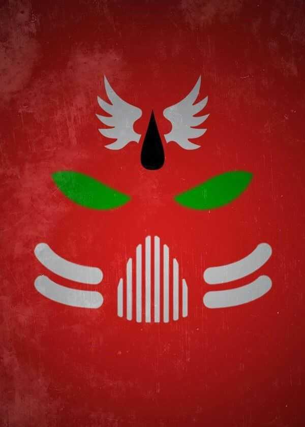Warhammer 40k - the blood ravens - plakat wymiar do wyboru: 21x29,7 cm