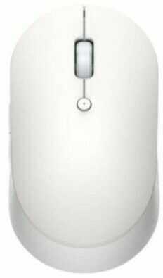 Myszka komputerowa Mi Dual Mode Wireless Mouse Silent Edition - Xiaomi (Biały)