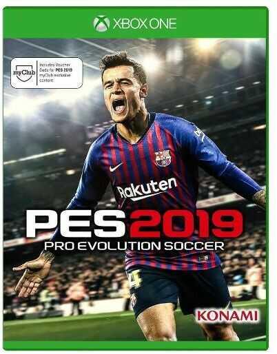 Pro Evolution Soccer 2019 + szalik Xbox One / Xbox Series X - szybka wysyłka!