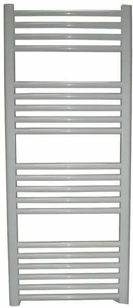 Grzejnik łazienkowy York - wykończenie proste, 600x1200, Biały/RAL - biały