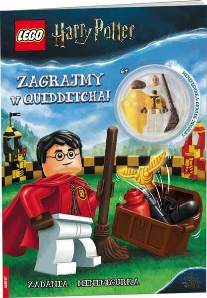 Lego Harry Potter Zagrajmy w quidditcha! LNC-6407 - Opracowania Zbiorowe