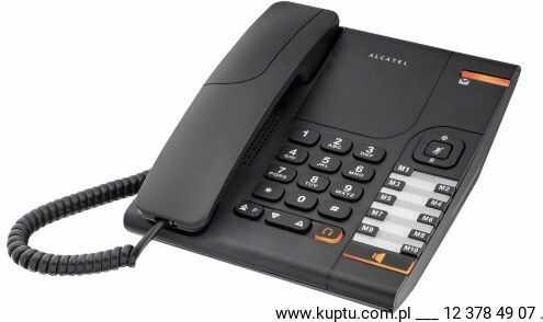 Alcatel Temporis 380 czarny