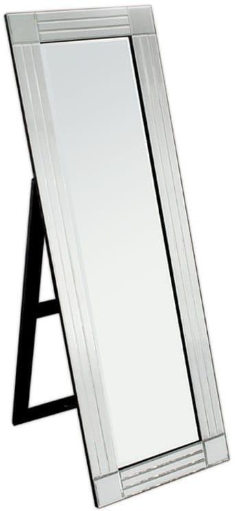 Lustro stojące w ozdobnej ramie 50x150