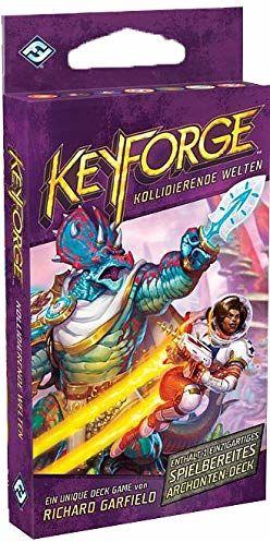 Asmodee Fantasy Flight Games FFGD1412 Keyforge: Światy kolidujące  pojedynczy pokój, dla koneserów, niemiecki