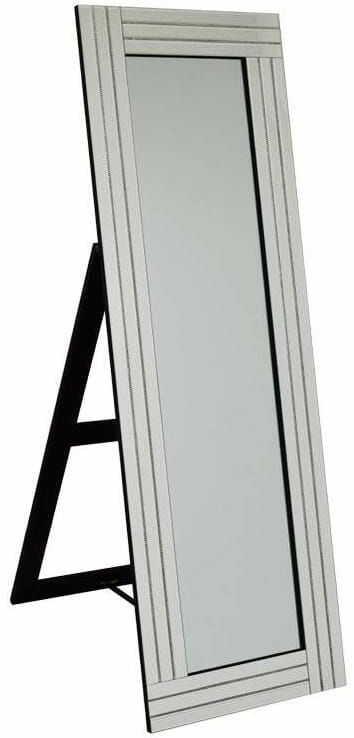 Lustro stojące z cyrkoniami 50x150
