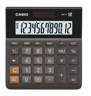 Kalkulator CASIO MH-12BK-S