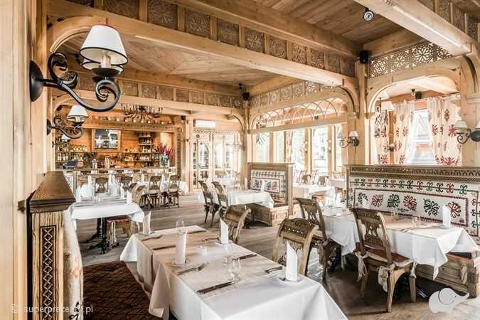 Romantyczna kolacja w Góralskiej Tradycji w Zakopanem