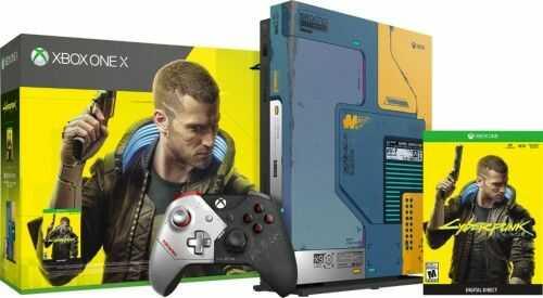 Konsola Xbox One X Cyberpunk Edition Używana