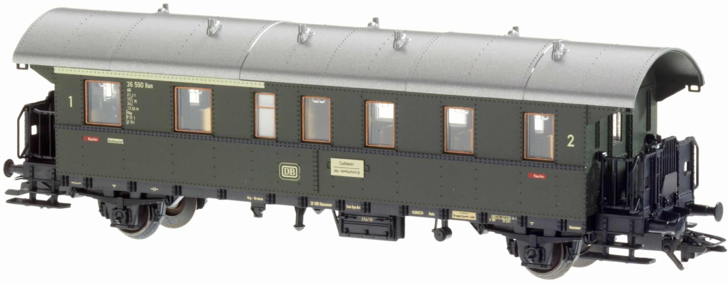 Märklin 4313 Klasyczny model kolejki samochód osobowy, tor H0