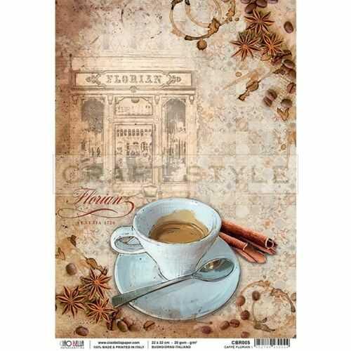 CBR005 Buongiorno Italiano Collection - papier ryżowy A4