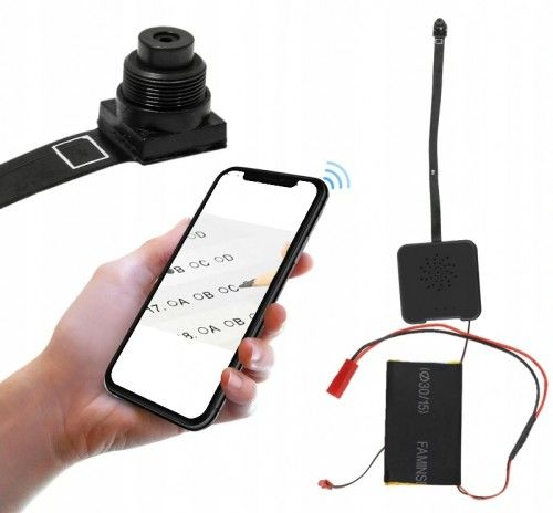 Mini kamera na egzamin do tekstu Wi-Fi M8 EG ( Podgląd Online )