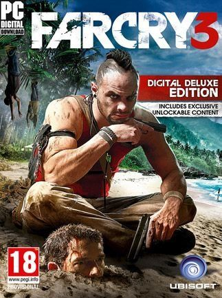 Far Cry 3 Deluxe (PC) klucz Uplay