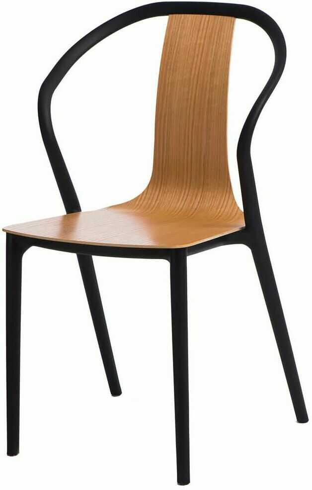 Designerskie krzesło Emeli - naturalne