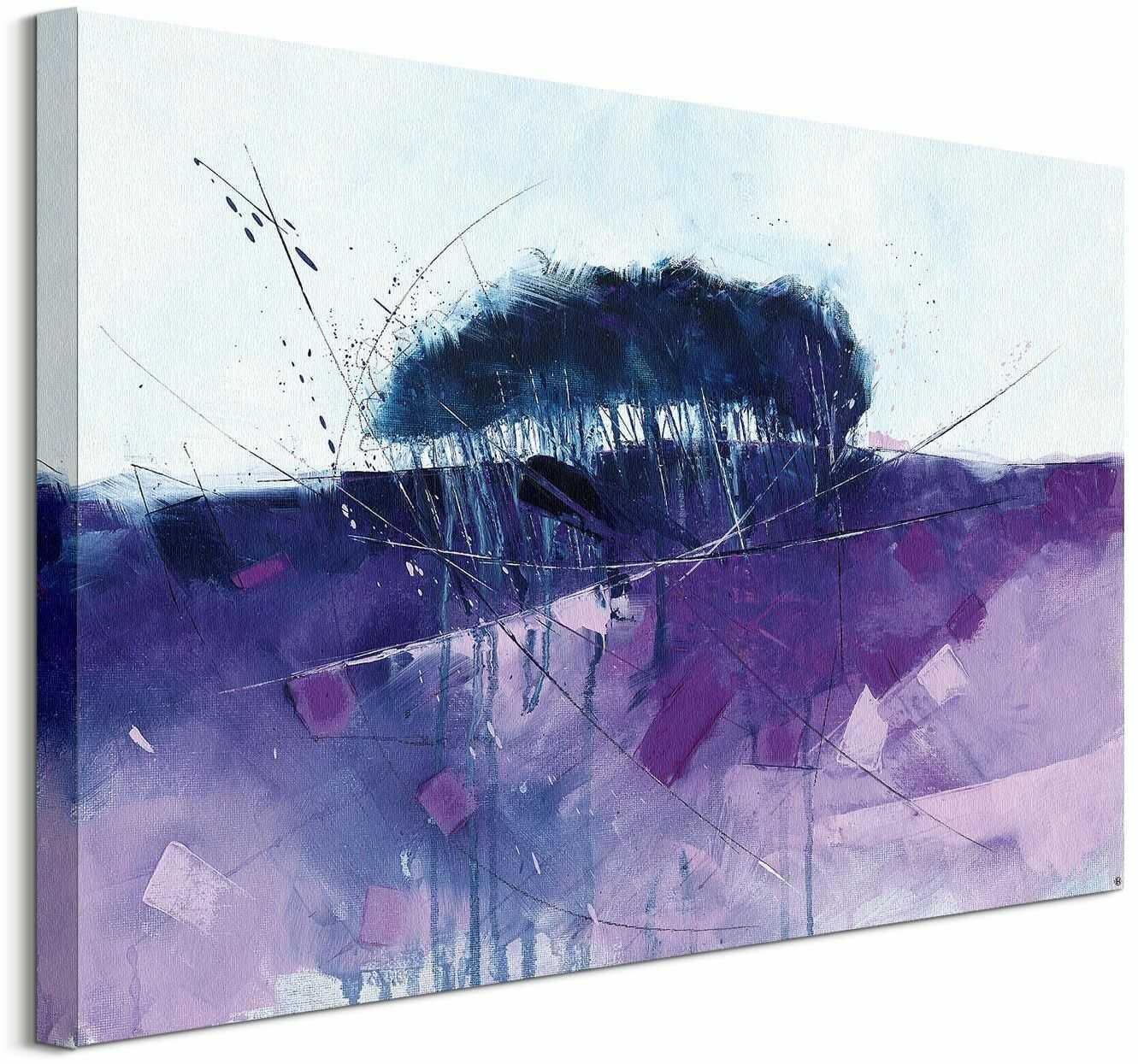 Lavender hill - obraz na płótnie