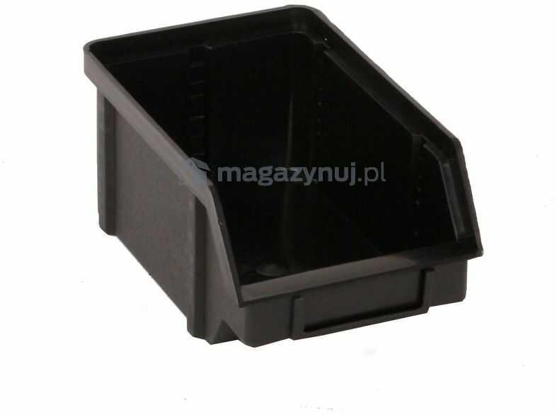 Pojemnik warsztatowy z polipropylenu standardowego, wym. 119 x 77 x 56 mm (Kolor szary)