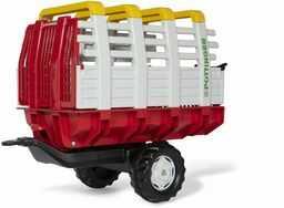 Rolly Toys 122479 RollyHaywagon Pöttinger zawieszka do traktora na pedałach (od 3 do 10 lat, automatyczna blokada, uchylna)