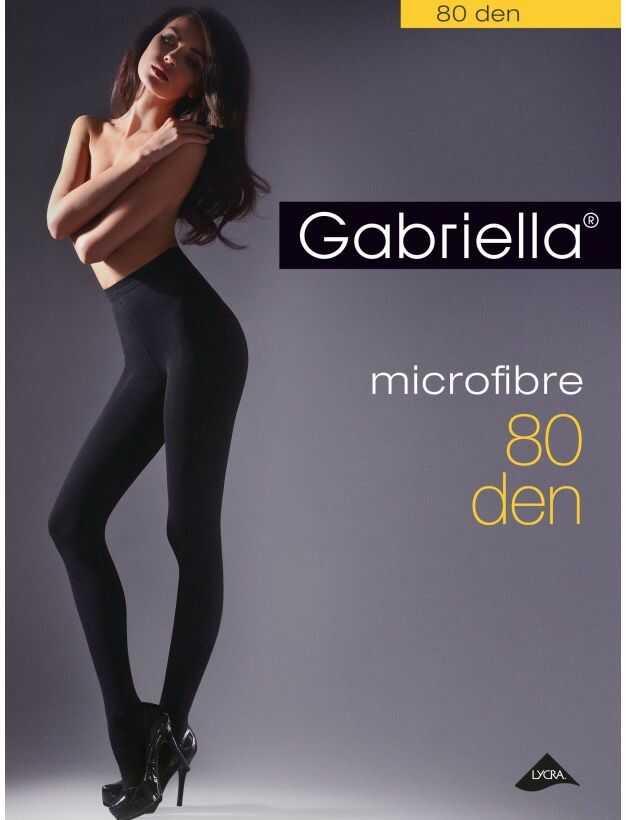 Microfibre 80 den gabriella rajstopy