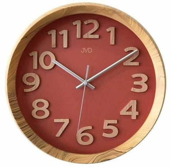 Zegar ścienny JVD HT073.1 31 cm Wypukłe cyfry