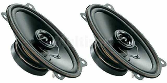 Głośniki samochodowe dwudrożne 4x6 /60W