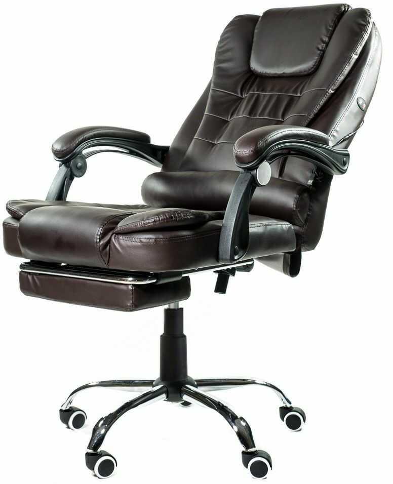 Fotel biurowy Artnico Elgo 3.0 ciemny brąz