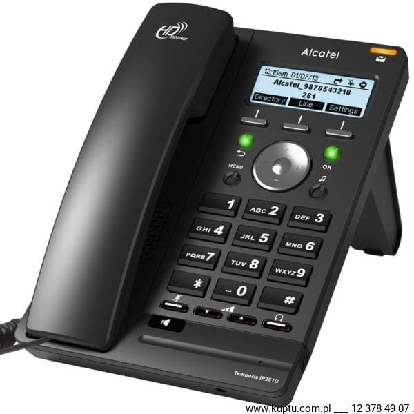 Alcatel Temporis IP 251G SIP PoE